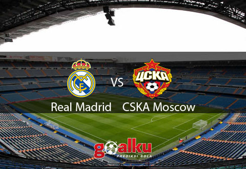 Real madrid vs CSKA Moskow