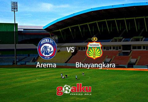 Arema vs Bhayangkara