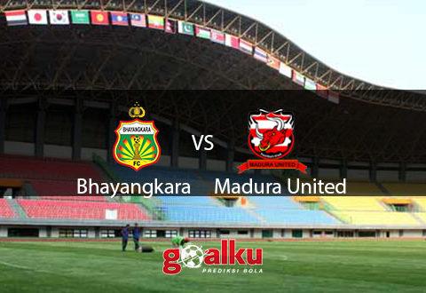 Bhayangkara vs Madura United