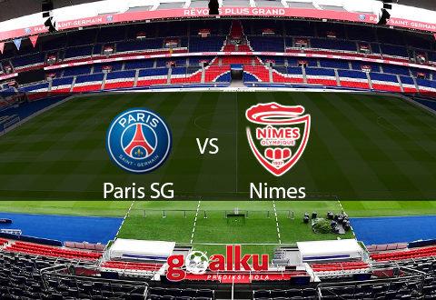 PSG vs Nimes