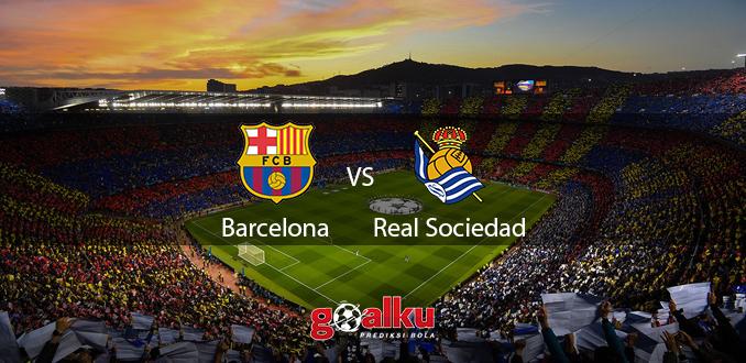 Prediksi Bola Barcelona vs Real Sociedad 8 Maret 2020