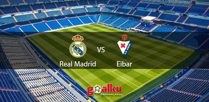 Prediksi Bola Real Madrid vs Eibar 15 Juni 2020