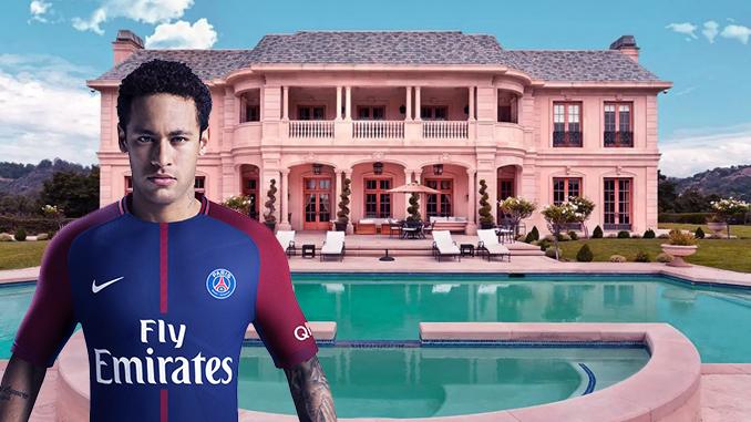 Neymar Isolasi Diri Di Mansion Mewah Seharga 145 Miliar