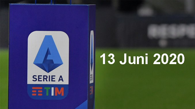 Serie A Digelar Kembali 13 Juni 2020