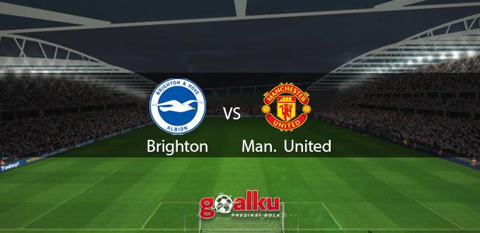 Prediksi Bola Brighton vs Manchester United 1 Juli 2020