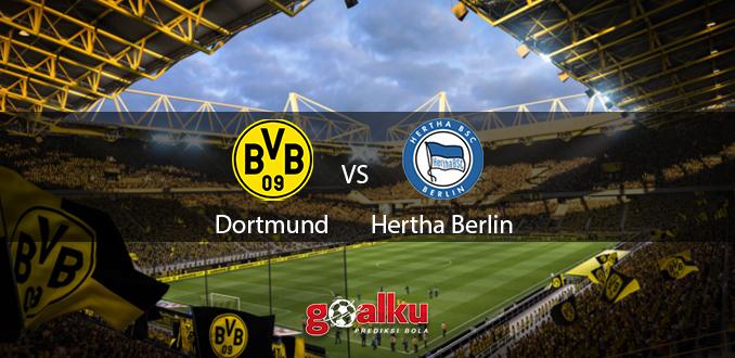 Prediksi Bola Borussia Dortmund vs Hertha Berlin 6 Juni 2020