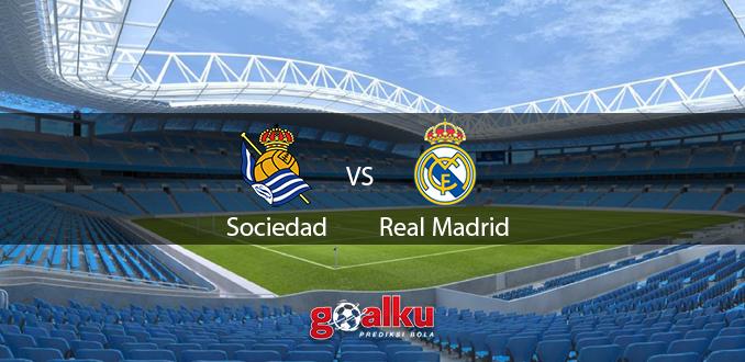 Prediksi Bola Real Sociedad vs Real Madrid 22 Juni 2020