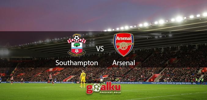 Prediksi Bola Southampton vs Arsenal 26 Juni 2020